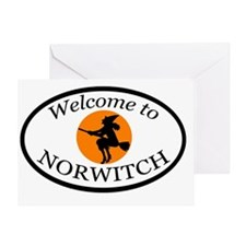norwitch_final_dark Greeting Card