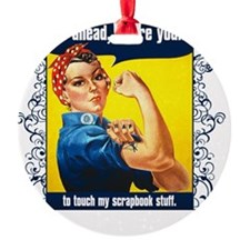 TouchMyStuff Ornament