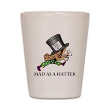 Mad-Hatter Shot Glass