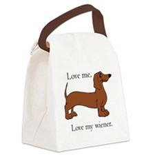 Wiener Canvas Lunch Bag