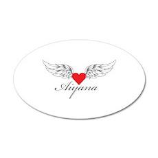 Angel Wings Aiyana Wall Decal