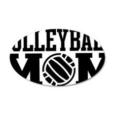 volleyball-mom-long-black Wall Decal