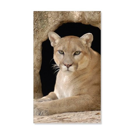 Cougar 014 20x12 Wall Decal