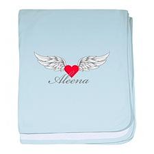 Angel Wings Aleena baby blanket