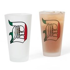 3-Mexican D Drinking Glass