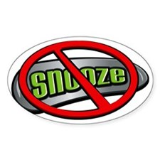 Snooze Decal