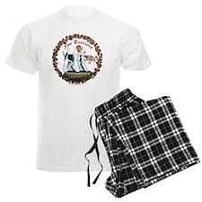 fox squreNEW with vine cleane Pajamas