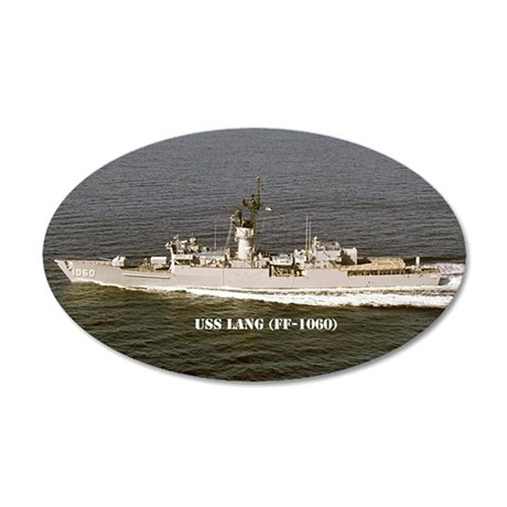 lang ff postcard 35x21 Oval Wall Decal