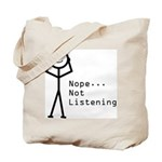 Selective Hearing Tote Bag