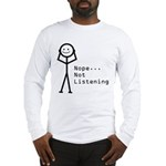 Selective Hearing Long Sleeve T-Shirt