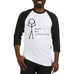 Selective Hearing Baseball Jersey