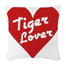 Tiger Lover Woven Throw Pillow