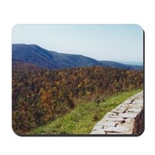 Skyline Drive Overlook Mousepad