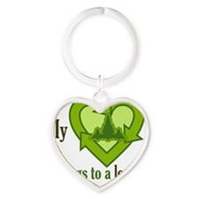 heartbelongs Heart Keychain