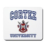CORTEZ University Mousepad