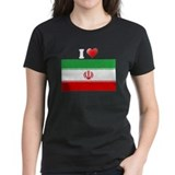 I love Iran T shirt I heart I Tee
