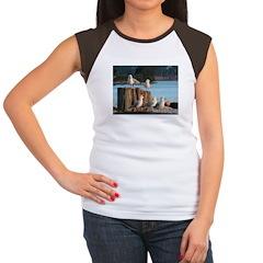 Seagulls Women's Cap Sleeve T-Shirt