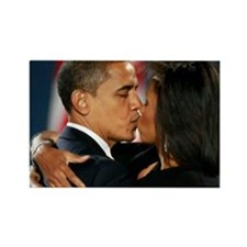 ART Obama first lady v1 Rectangle Magnet