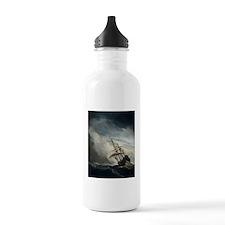 die_windstoot_black Water Bottle
