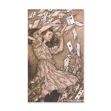 alice Arthur Rackham 1907 Wall Decal