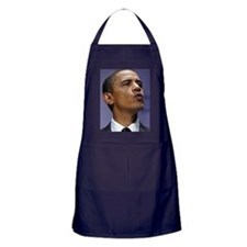 ART Obama wants to give you a kiss Apron (dark)