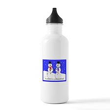 Gay Men Snowmen 2 Water Bottle