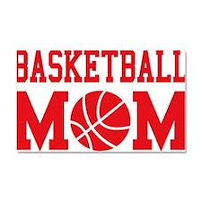 basketball-mom-red Car Magnet 20 x 12