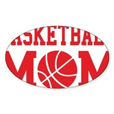basketball-mom-red Decal