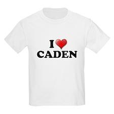 I LOVE CADEN T-SHIRT CADEN SH Kids T-Shirt