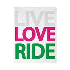live-love-ride3 Twin Duvet