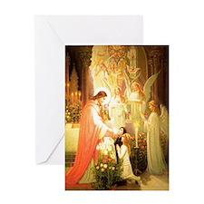 Angelic Choirs Greeting Card
