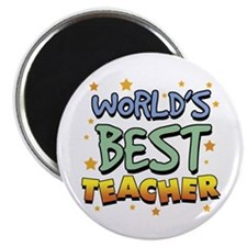 World's Best Teacher Magnet