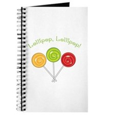 Lollipop, Lollopop! Journal