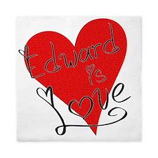 is_love_edward Queen Duvet