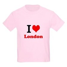Kids T-Shirt I Love London