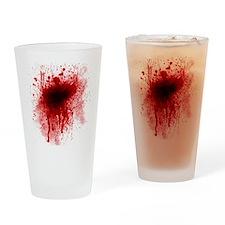 dark leg pillow Drinking Glass