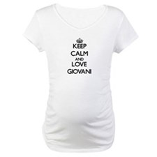 Keep Calm and Love Giovani Shirt