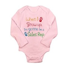 Future Sales Rep Long Sleeve Infant Bodysuit