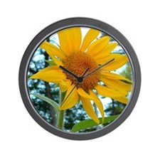 Sunflower 2 Wall Clock
