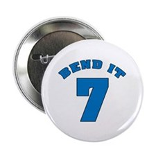 "Bend It 7 Soccer 2.25"" Button (100 pack)"