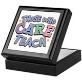 Those Who CARE Teach Keepsake Box