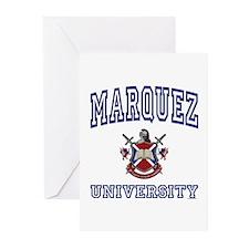 MARQUEZ University Greeting Cards (Pk of 10)