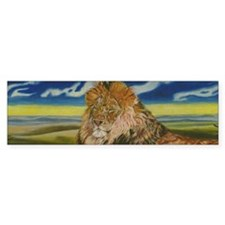 lion Bumper Sticker