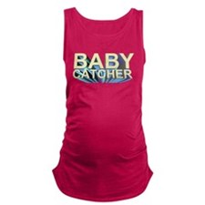 Funny Midwives Maternity Tank Top