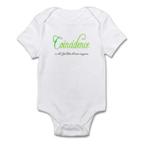 Coincidence Infant Bodysuit