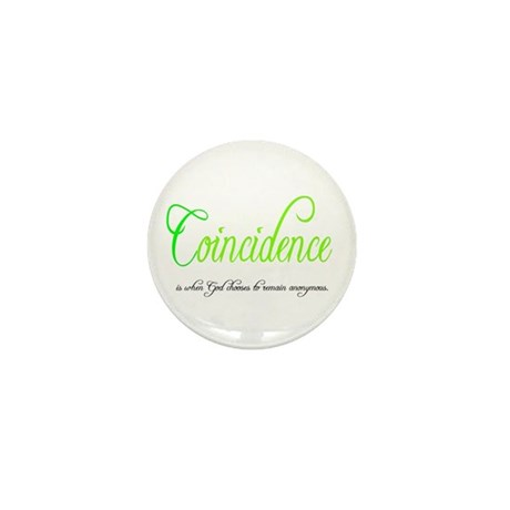 Coincidence Mini Button (100 pack)