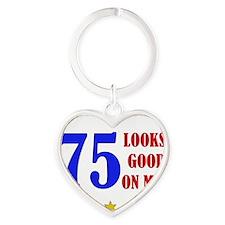LooksGood_75 Heart Keychain