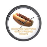 Cute Weenies Wall Clock