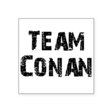 "teamconan Square Sticker 3"" x 3"""