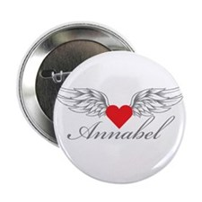 "Angel Wings Annabel 2.25"" Button (10 pack)"